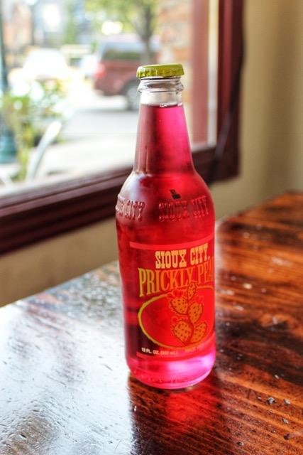 Prickly Pear Soda at Station 22 Cafe