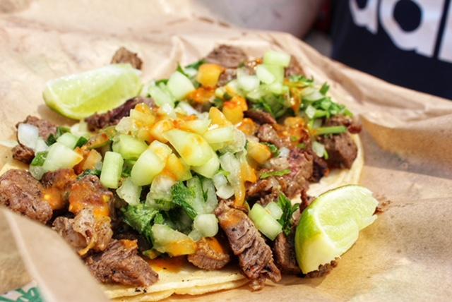 Jurassic Taco Carne Asada - The Chic Gourmay