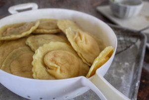 homemade ravioli - the chic gourmay recipe