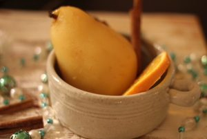 Brandied Pears The Chic Gourmay